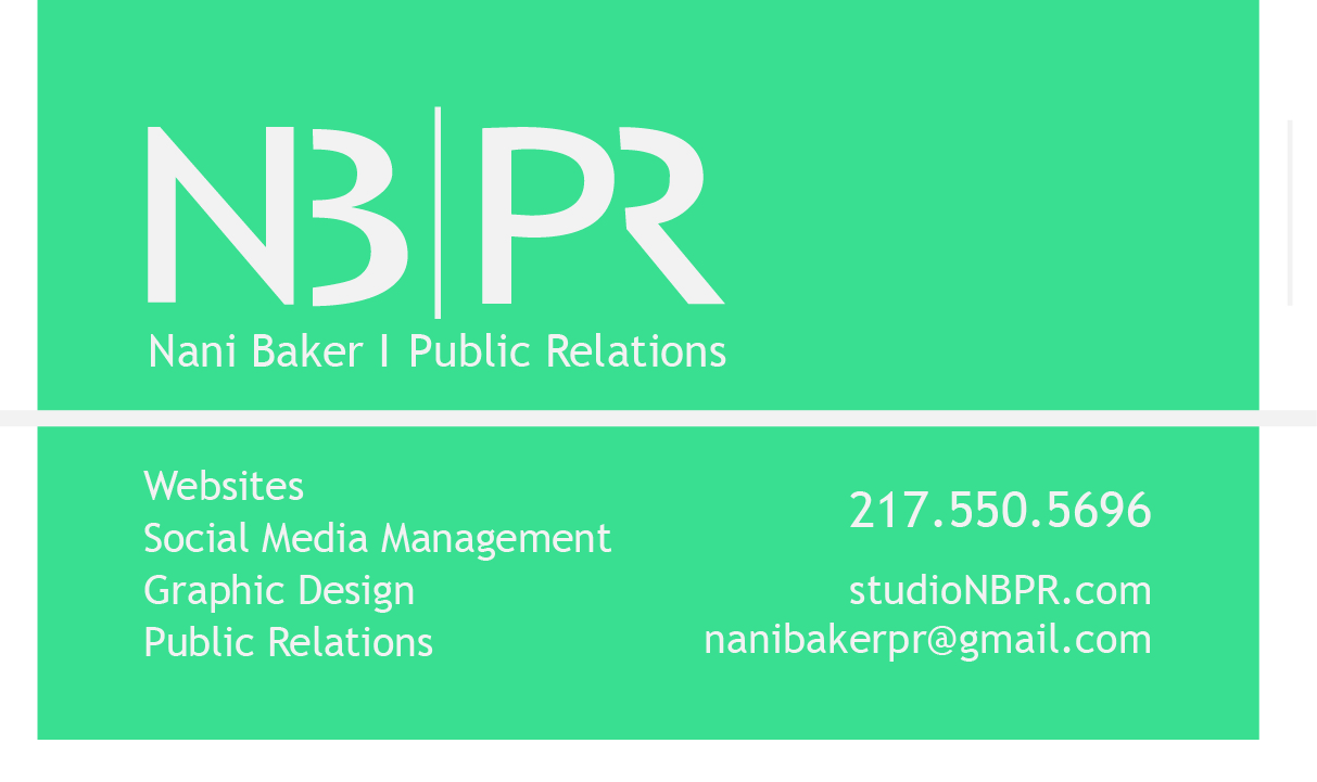 New Business Cards – NB | PR . CREATIVE . AFFORDABLE . PROFESSIONAL